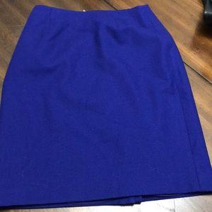 Amanda Smith royal blue skirt